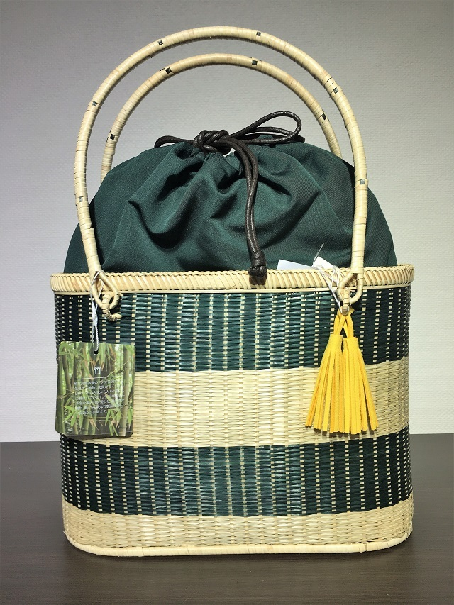 竹籠バッグ