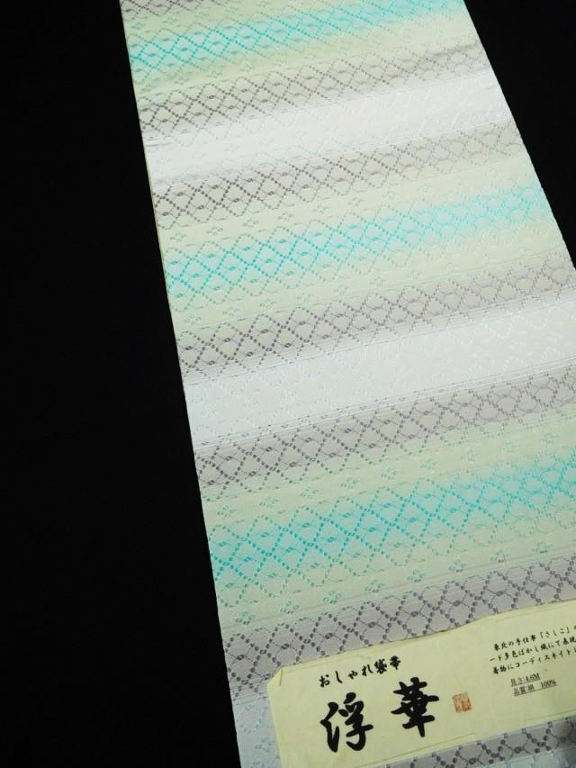 米沢花織袋帯