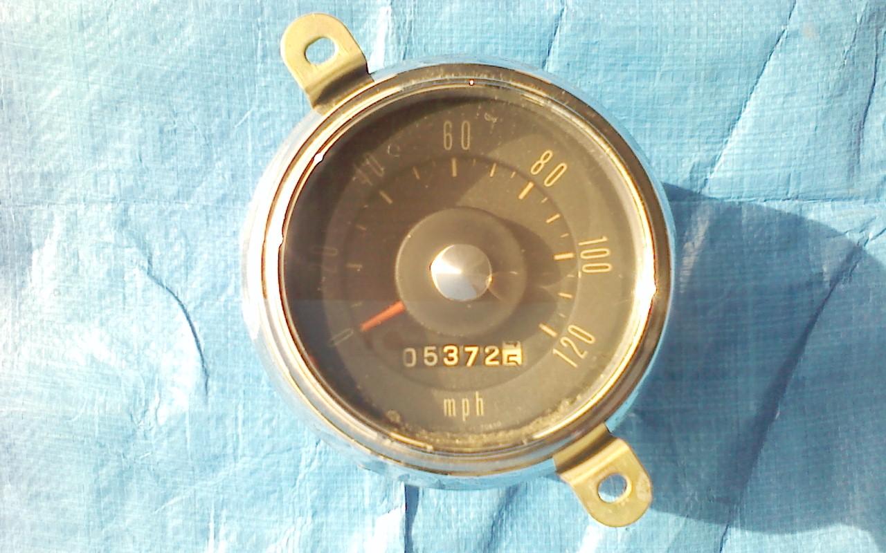 SPL310 3シーター用スピードメーター(マイル計) 中古