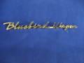 ブルーバード410用 Bluebird Wagon ゴールドエンブレム未使用