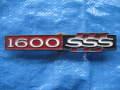 ブルーバード510 1600SSS用リヤエンブレム プラスチック製 未使用