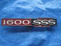 ブルーバード510 1600SSS用リヤエンブレム プラスチック製 中古