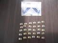 エンブレム取り付け等用スピードナット 30個 未使用長期在庫品