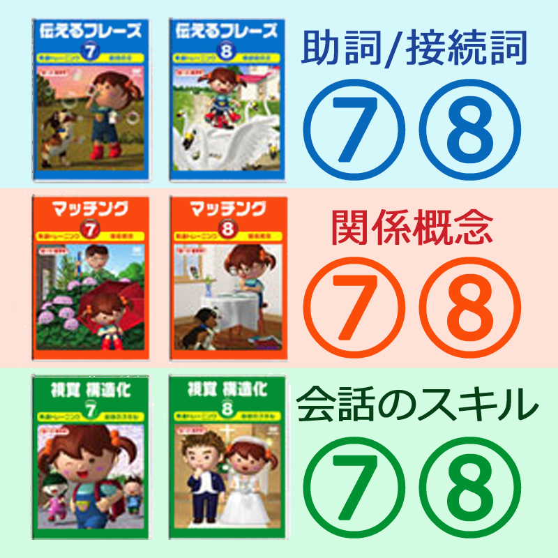 言語訓練 続編7・8/6巻セット