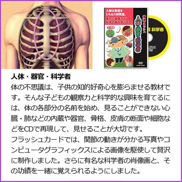 人体・器官・科学者