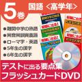 国語DVD 高学年向け 5巻セット
