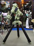 【処分品】タカハシ EM-400Temma2Z赤道儀(SR-L木製三脚(G)付き、ライトグリーン)