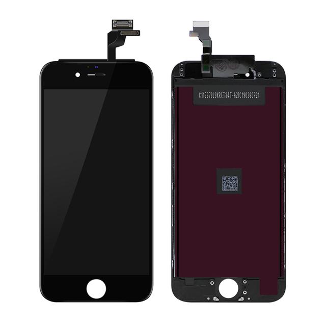iPhone 6 TFT液晶パネル(黒色)(1pcs,10pcs/1箱,50pcs/1箱)