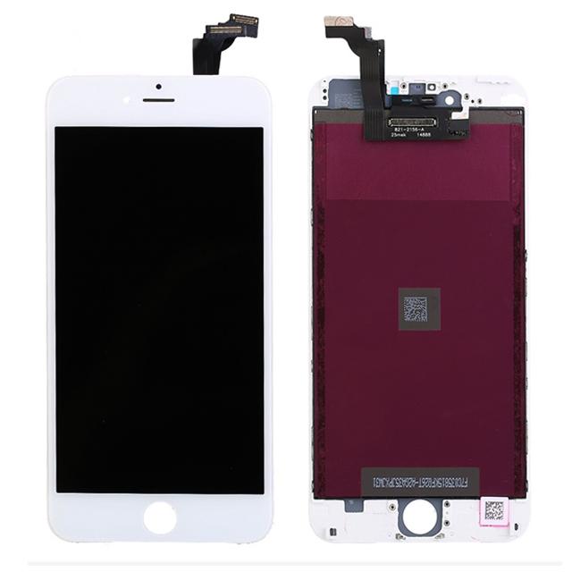 iPhone 6 Plus TFT液晶パネル(白色)(1pcs,10pcs/1箱,50pcs/1箱)