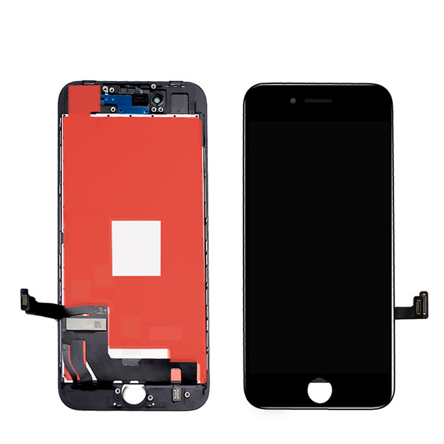 iPhone 8 TFT液晶パネル(黒色)(1pcs,10pcs/1箱,50pcs/1箱)