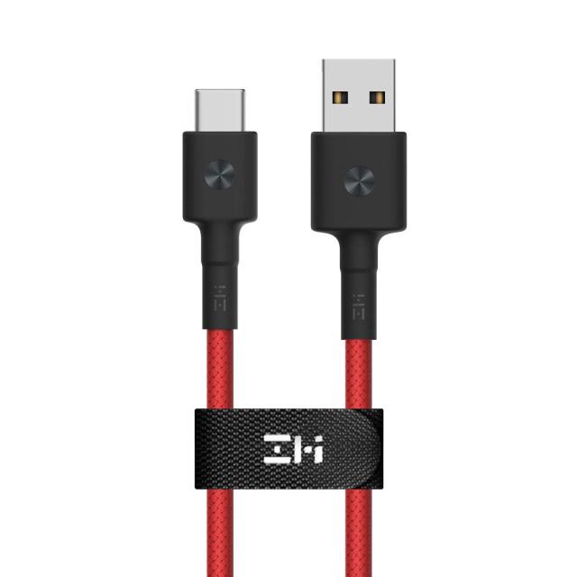 ZMI AL401 高耐久ナイロン製 USB-C 充電&データ転送用 ケーブル 100cm レッド