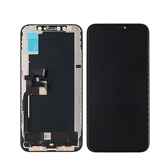 iPhone XS TFT液晶パネル(黒色)(1pcs,10pcs/1箱,50pcs/1箱)