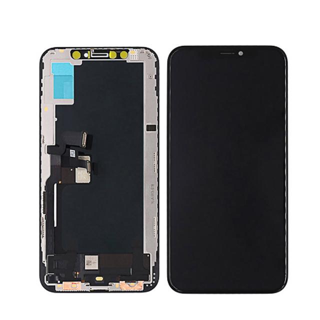 iPhone XS OLED液晶パネル(黒色)(1pcs,10pcs/1箱,50pcs/1箱)