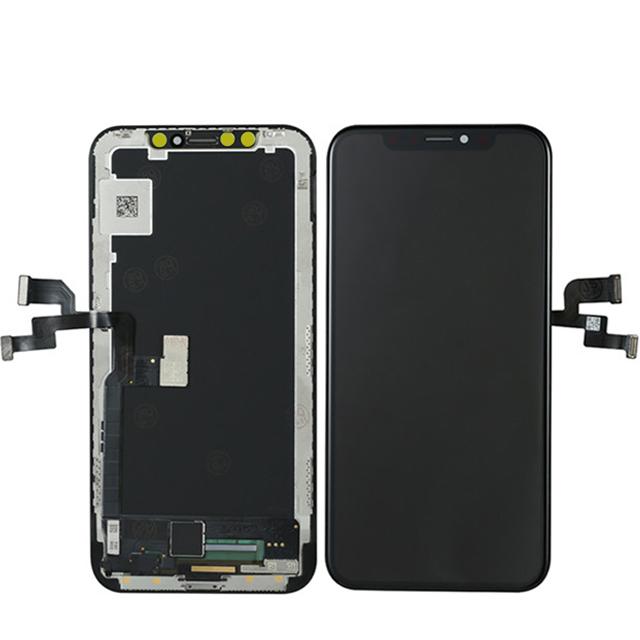iPhone X OLED液晶パネル(黒色)(1pcs,10pcs/1箱,50pcs/1箱)