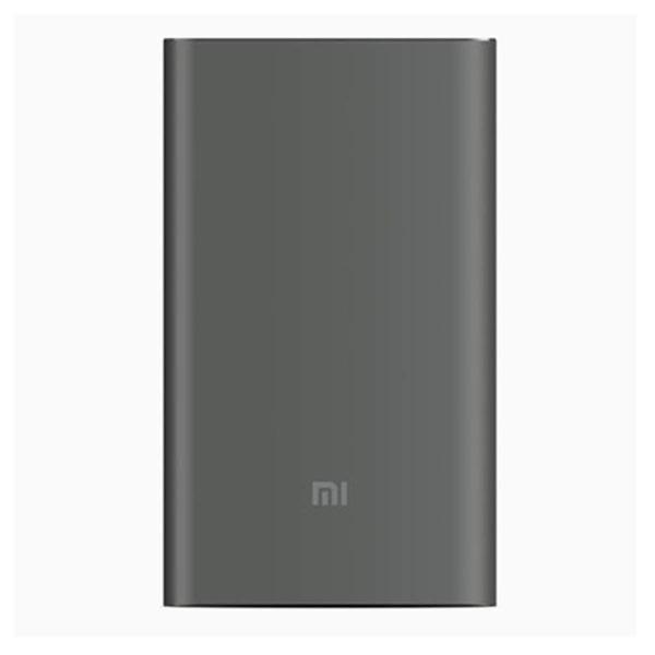 【正規品】10000mAh Mi Power Bank Pro (グレー) | Xiaomi (小米、シャオミ) モバイルバッテリー