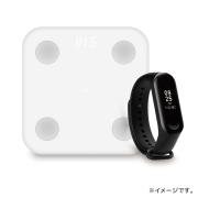 【正規品】Mi Band 3 | Xiaomi(小米、シャオミ)スマートバンド×Xiaomi スマート体組成計