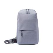 【正規品】ボディバッグ Mi City Sling Bag (ダークグレー/ライトグレー) Xiaomi