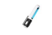 紫外線滅菌器 U80 UVライト オゾン 除菌 99%細菌消滅 360℃ 消臭 小型 軽量 無臭 除菌 殺菌 持ち運びが簡単 簡単操作 ギフトに最適 マスク除菌 携帯除菌 5W 2000mAh