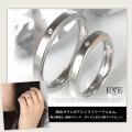 EVE アシンメトリーダイヤモンドステンレスリング