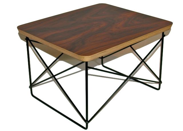 Herman Miller ハーマンミラー イームズ ワイヤーベーステーブル LTR 天板 / サントスパリサンダー
