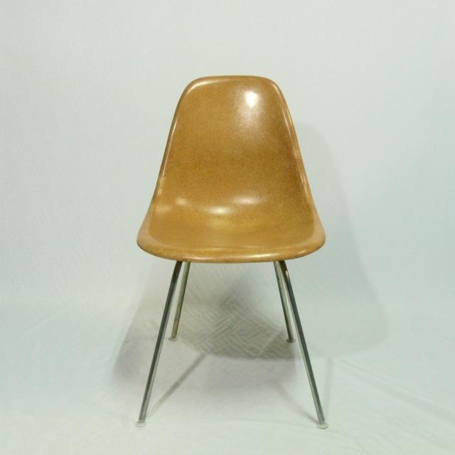 Eames Side Shell Chair  Ochre Dark