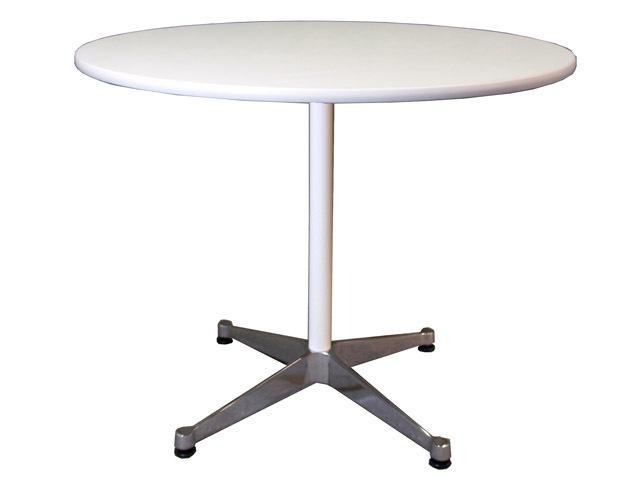 ハーマンミラー社製 イームズ コントラクトテーブル 天板・支柱 / 白