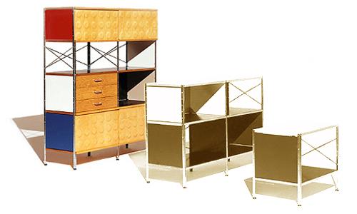 Herman Miller ハーマンミラー イームズ ストレージ ユニット (ESU 420)カラフル / Eames Storage Unit