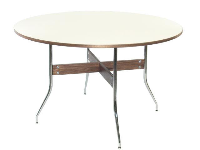 ハーマンミラー社製 ネルソン スワッグレッグ ダイニング丸テーブル