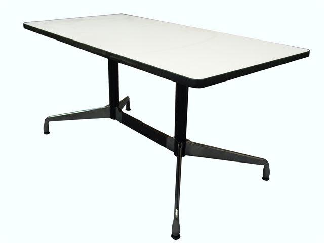 Herman Miller ハーマンミラー イームズ セグメンテッドベーステーブル  天板 長方形 / 白