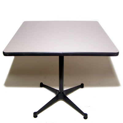Eames contract base table Gray