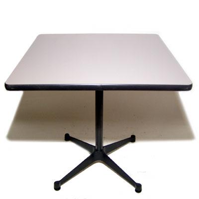 Eames contract base table Gray