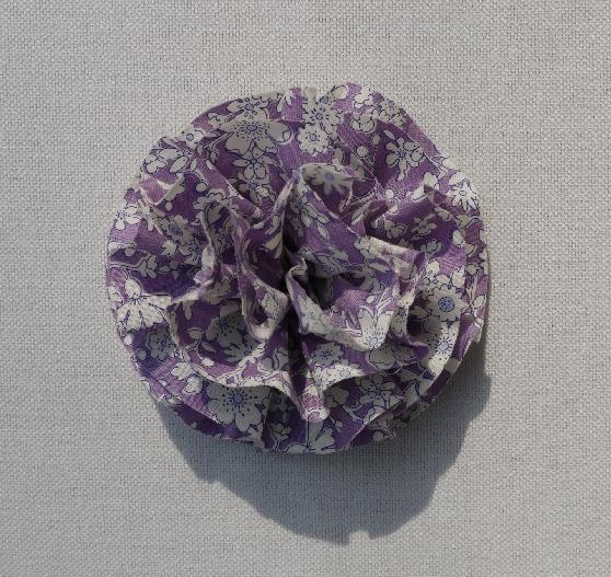 リバティ コサージュ Maddsie lavender