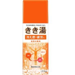 バスクリン きき湯 食塩炭酸湯 炭酸湯 360g ボトル (1614-0103)