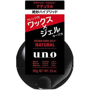 資生堂  ウーノ デザインハードジェリー (ナチュラル) 100g