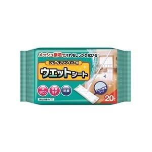 【ケース売り】大三 フローリングワイパー用 ウェットキレイシート20枚×48個入り (1014-0104)
