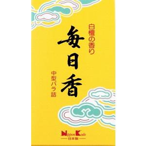 日本香堂  毎日香中型バラ詰 1個 約150g