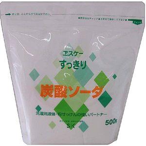 エスケー石鹸 すっきり炭酸ソーダ 500G (1918-0206)