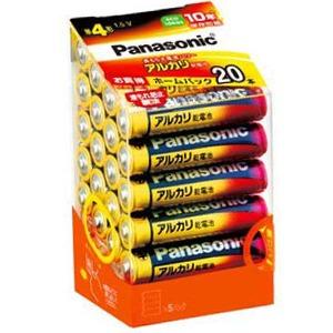 【在庫処分】パナソニック アルカリ乾電池 単4形 20本入り (1808-0201)
