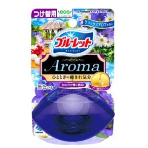 小林製薬 液体ブルーレットおくだけアロマ つけかえ リラックスアロマ 70ml (0805-0403)