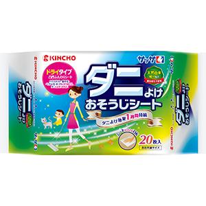 大日本除蟲菊 サッサ ダニよけおそうじシート 20枚