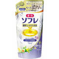 バスクリン 薬用ソフレ 濃厚入浴液 ホワイトフローラルの香り つめかえ用 400ml (1616-0204)