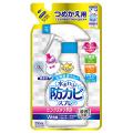 アース製薬  らくハピ 水まわりの防カビスプレー ピンクヌメリ予防 無香性 つめかえ 1袋