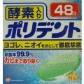 アース製薬 部分入歯 ポリデント48錠  (1719-0303)