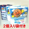 【数量限定】ネピア GENKI  パンツ Mサイズ 58枚×2個パック(ゲンキおむつ アンパンマン 袋付き)