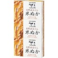 牛乳石鹸 カウブランド 自然派石けん 米ぬか 3コパック (0306-0407)