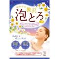 牛乳石鹸 お湯物語 贅沢泡とろ 入浴料 スリーピングアロマの香り 1包 30g (1308-0404)