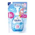 牛乳石鹸 泡で出てくる ミルキィボディソープボディソープやさしいせっけんの香りつめかえ480ml