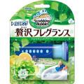 ジョンソン スクラビングバブル トイレスタンプ贅沢フレグランスアロマティックグリーンの香り38g (1723-0405)