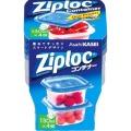 旭化成 ジップロック コンテナー 正方形130ml 4個入 (0308-0403)