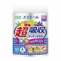 大王製紙 エリエール 超吸収キッチンタオル 50カット  4ロール     (930206201)